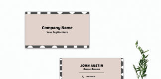 Free Modern Creative Minimal Business Card Template