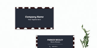 Free Modern Creative Minimal Business Card Template V2