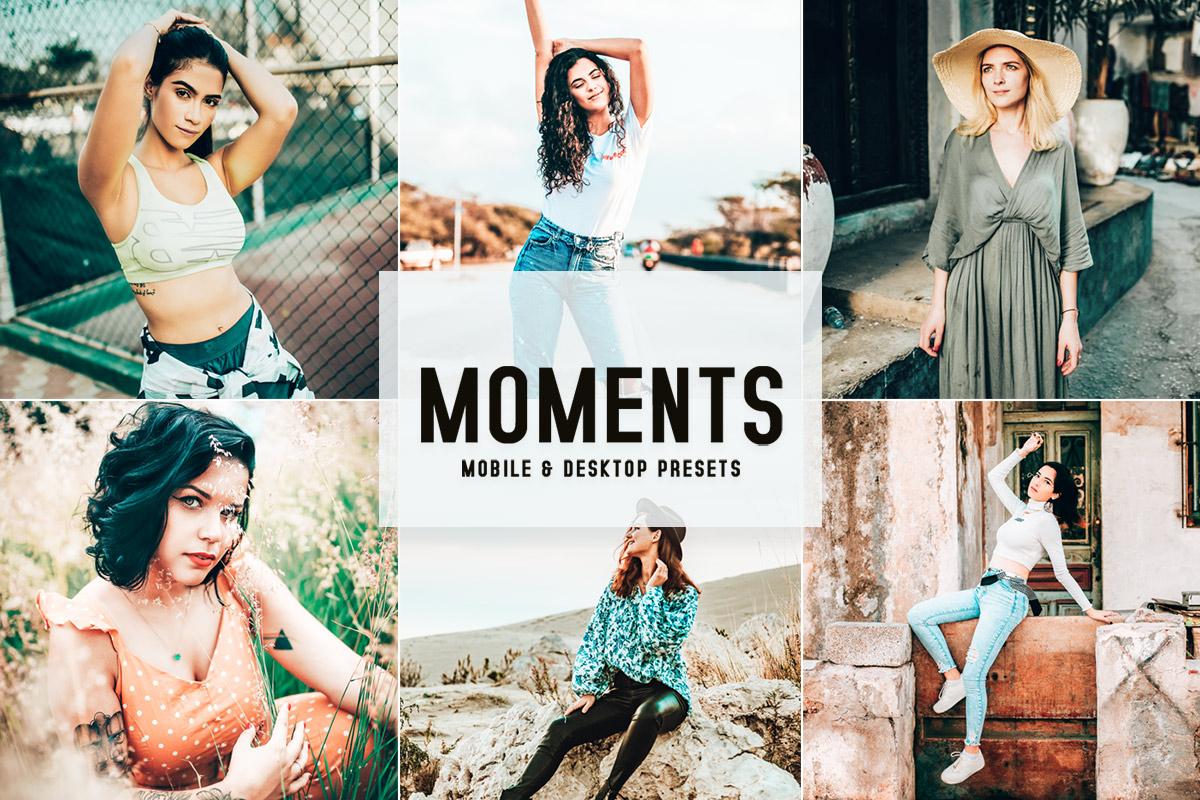 Free Moments Lightroom Presets