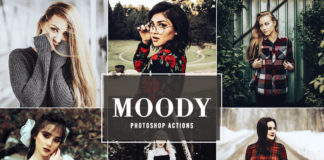 Free Moody Photoshop Actions