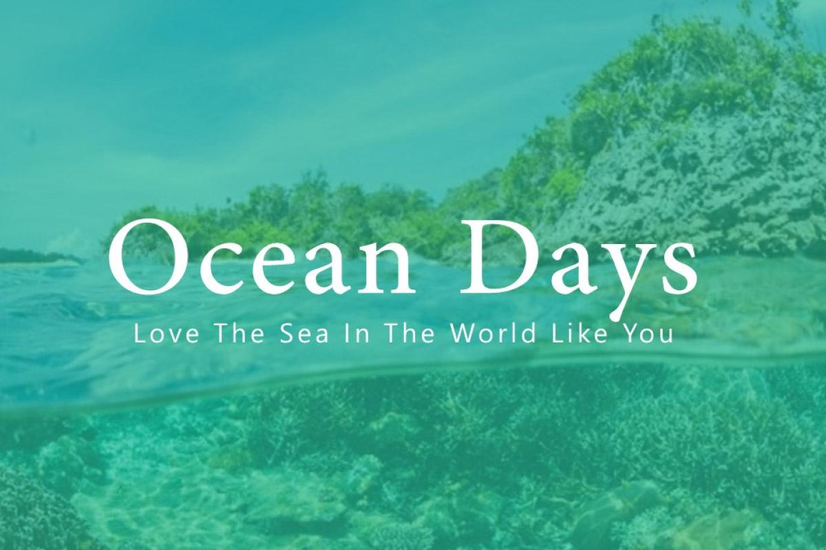 Free Ocean Days PowerPoint Template