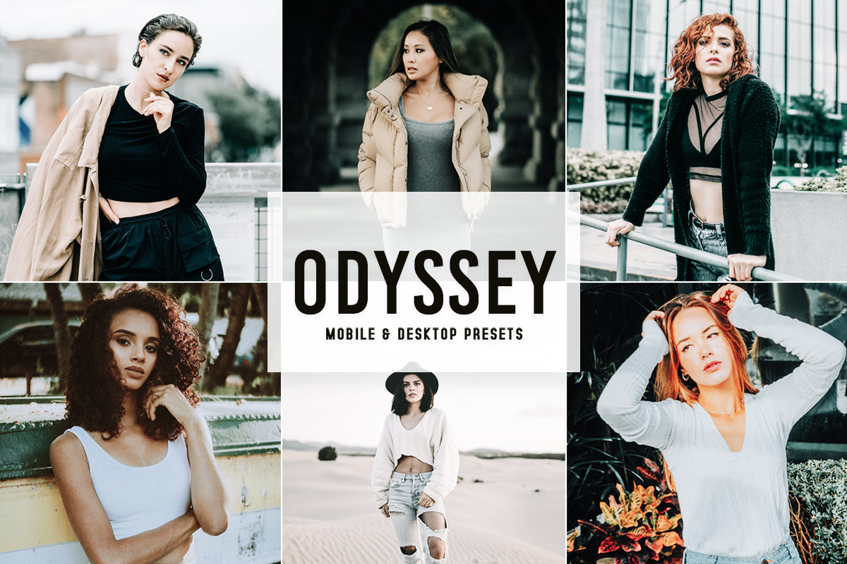 Free Odyssey Lightroom Presets