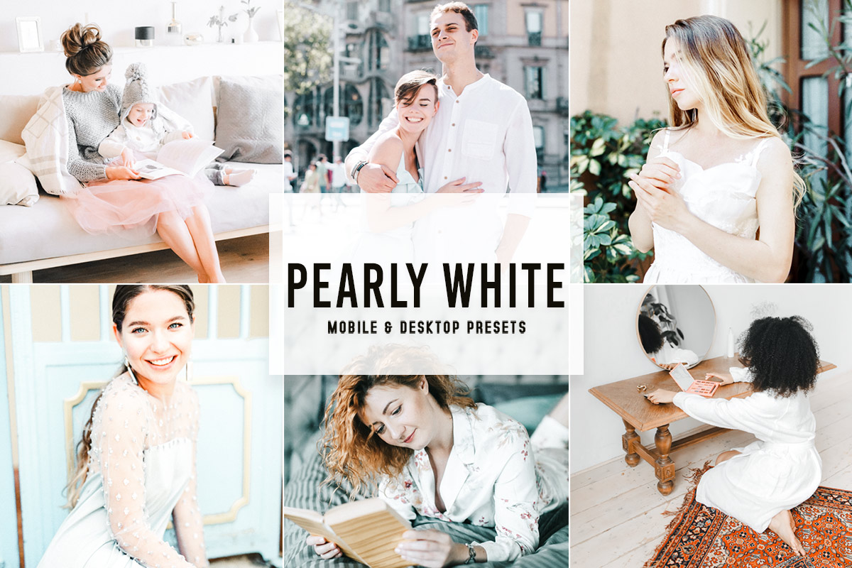 Free Pearly White Lightroom Presets
