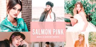 Free Salmon Pink Lightroom Presets