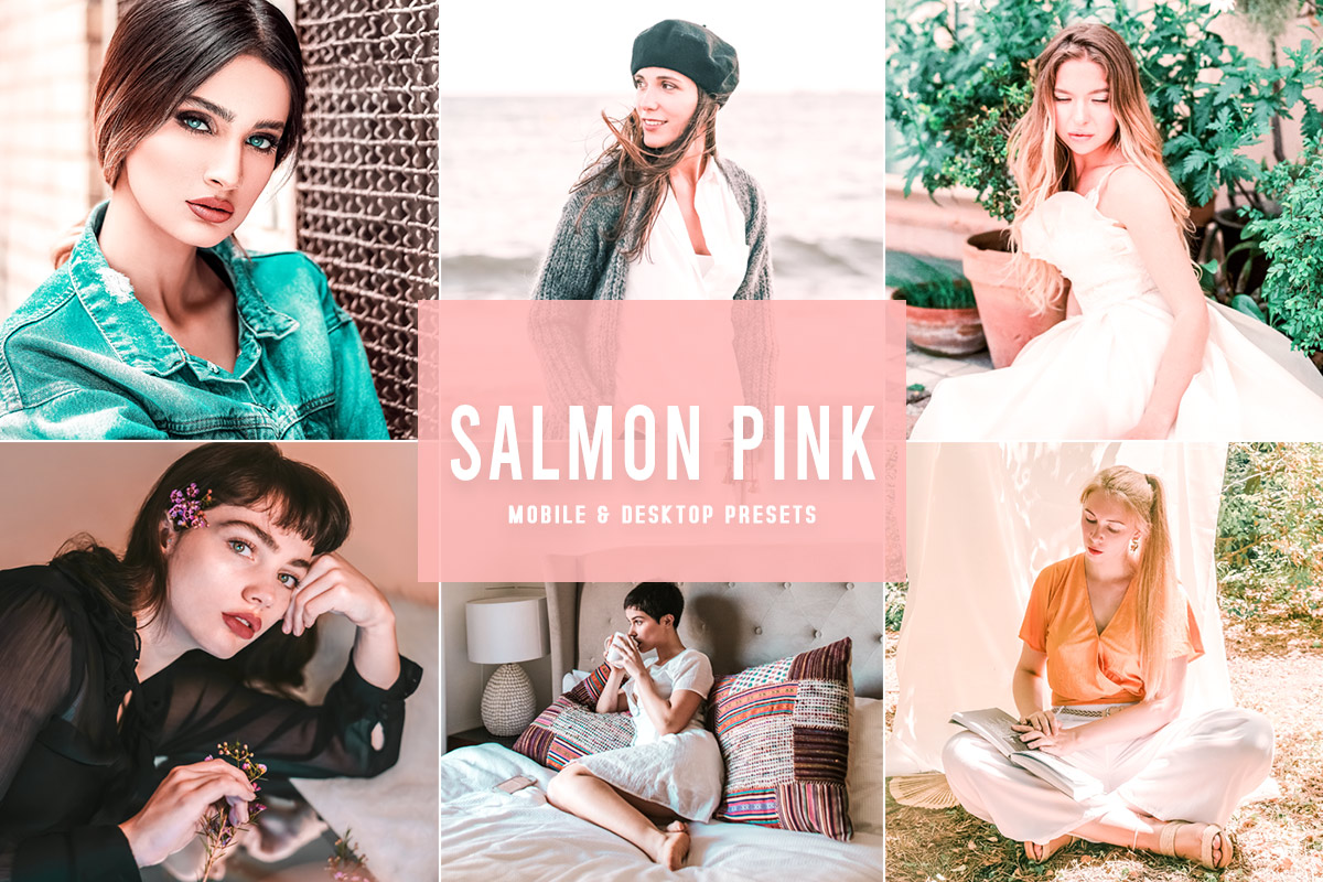 Free Salmon Pink Lightroom Presets