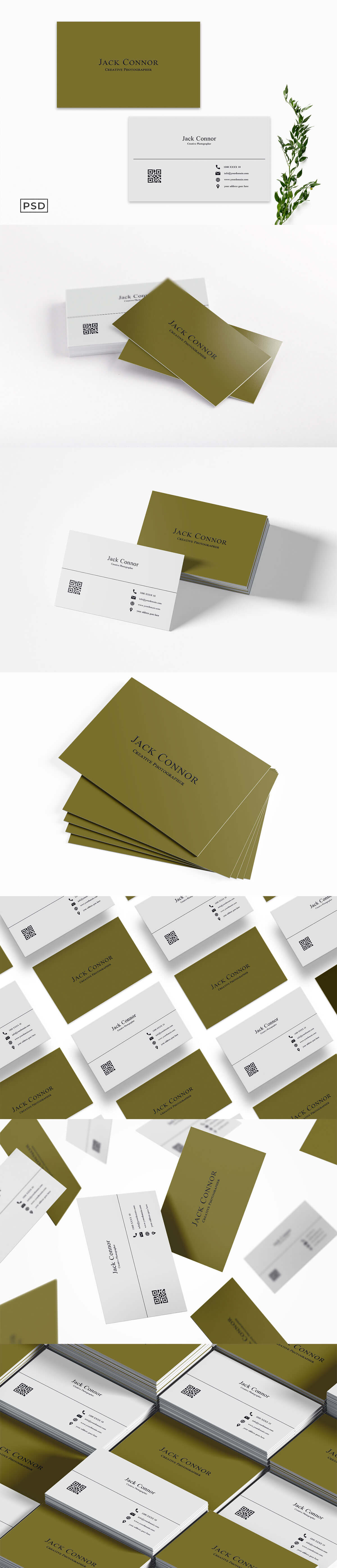 Free Simple Business Card Template V2