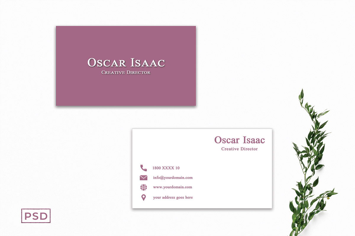 Free Simple Creative Business Card Template