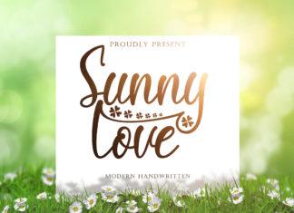 Free Sunny Love Handwritten Typeface