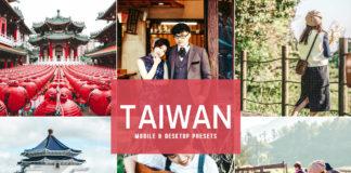 Free Taiwan Lightroom Presets