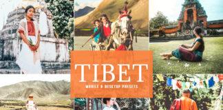 Free Tibet Lightroom Presets