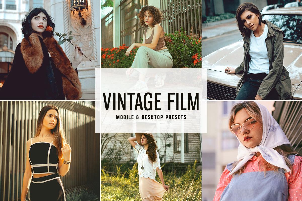 Free Vintage Film Lightroom Presets