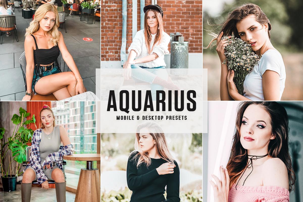 Free Aquarius Lightroom Presets