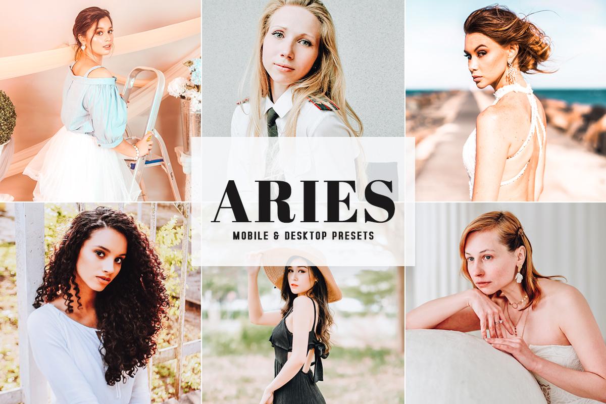 Free Aries Lightroom Presets