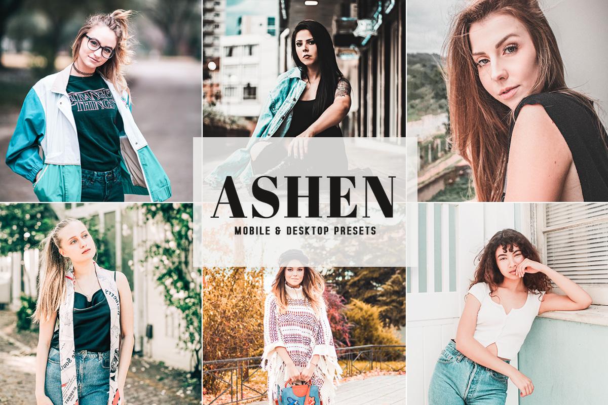 Free Ashen Mobile & Desktop Lightroom Presets