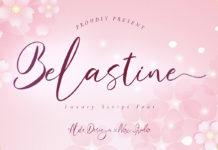 Free Belastine Script Font