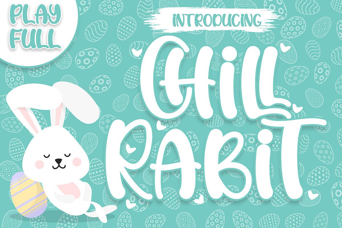 Free Chill Rabit Display Font
