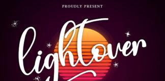 Free Lightover Calligraphy Font