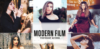 Free Modern Film Photoshop Actions