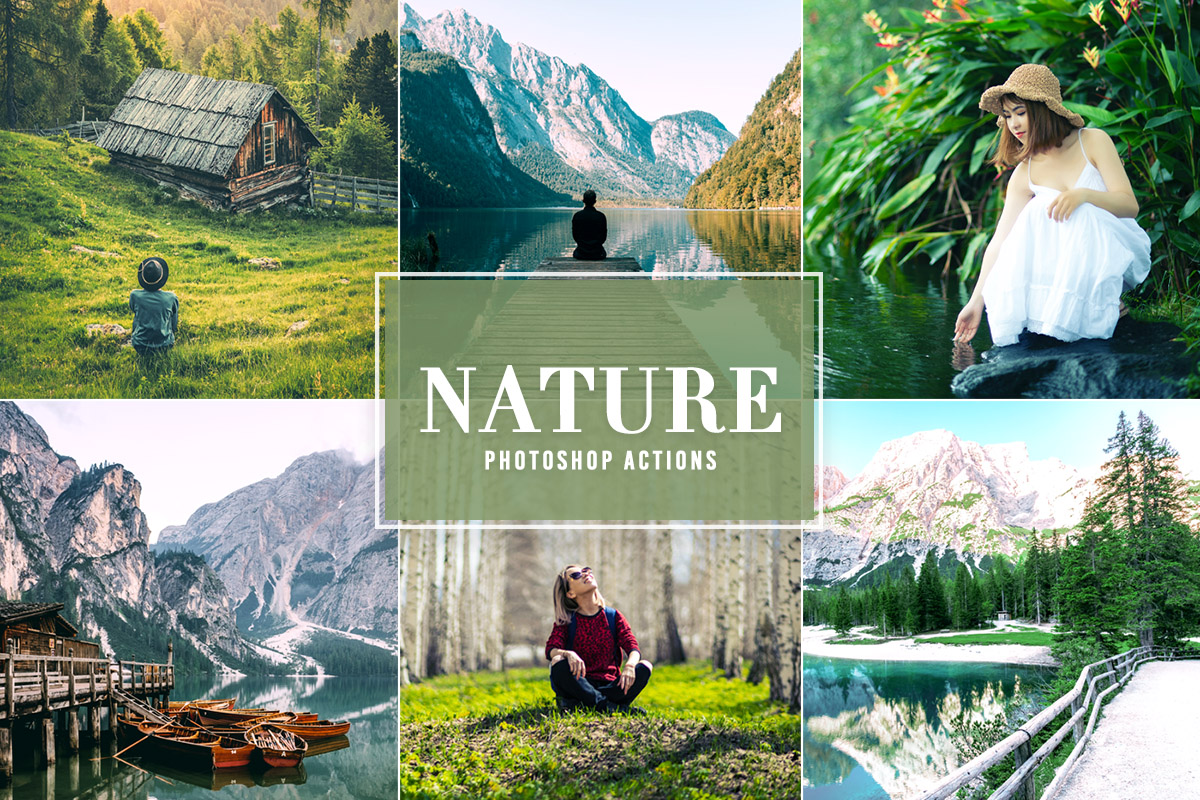 Free Nature Photoshop Actions