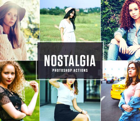Free Nostalgia Photoshop Actions