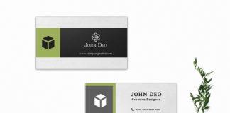 Free Ornamental Business Card Template V2