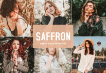 Free Saffron Lightroom Presets
