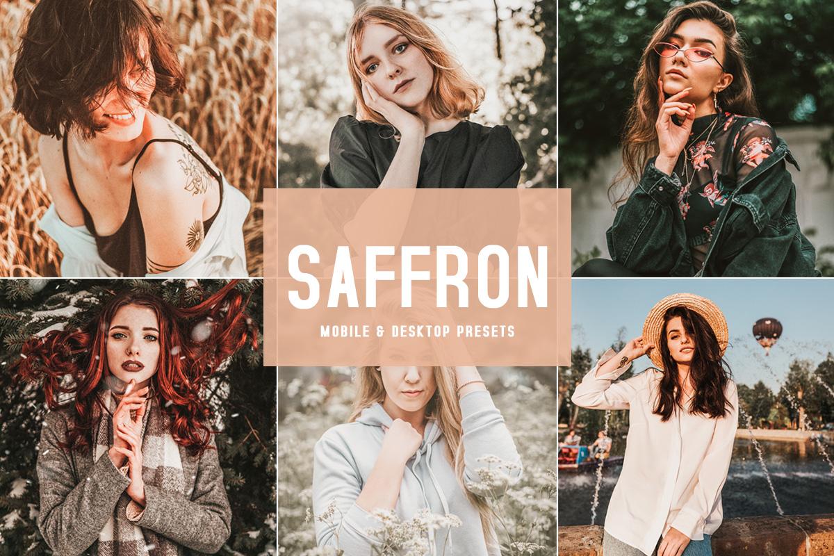 Free Saffron Lightroom Presets