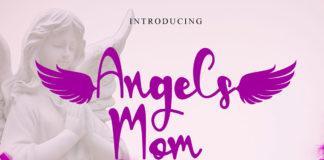 Free Angels Mom Handwritten Font