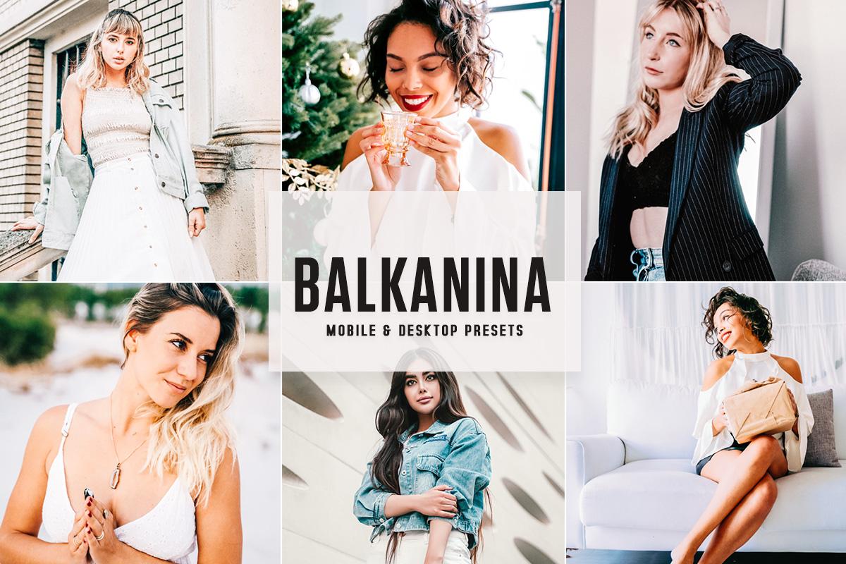 Free Balkanina Lightroom Presets