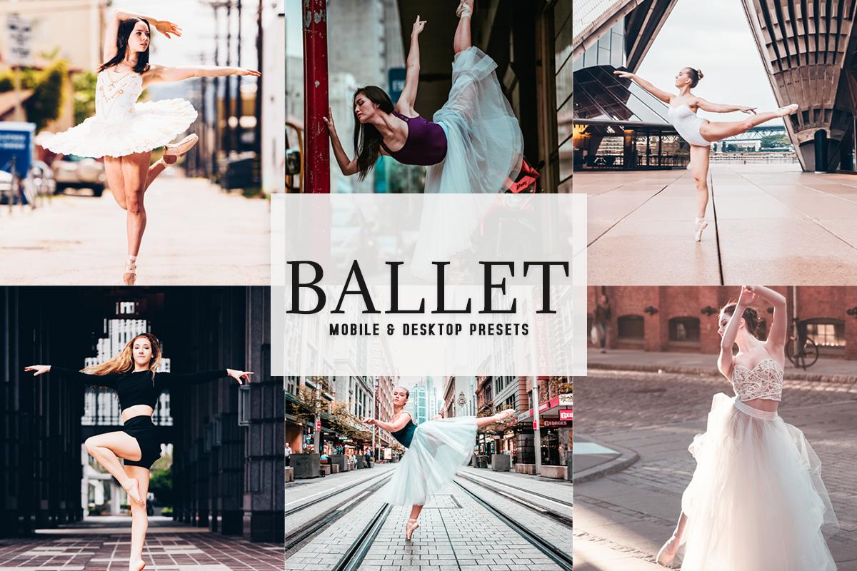 Free Ballet Lightroom Presets