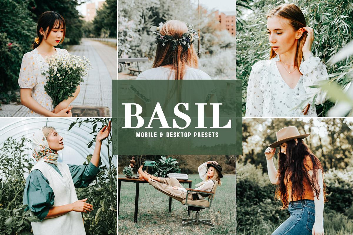 Free Basil Lightroom Presets