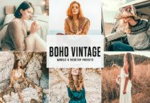 Free Boho Vintage Lightroom Presets