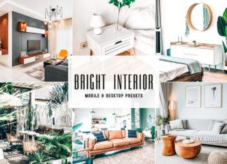 Free Bright Interior Lightroom Presets
