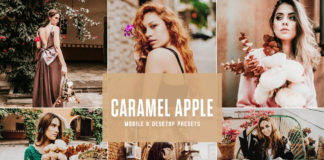 Free Caramel Apple Lightroom Presets