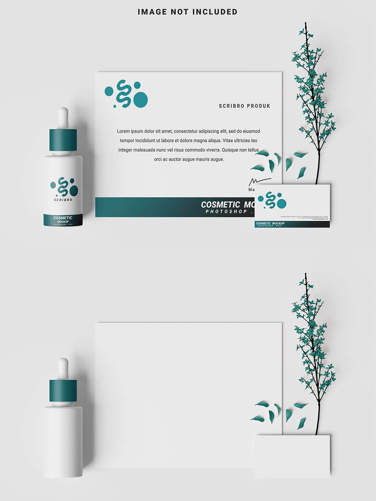 Free Cosmetic Branding Mockup