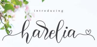 Free Harelia Script Font