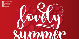 Free Lovely Summer Calligraphy Font