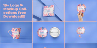 Free Pastela Logo Mockup Collections