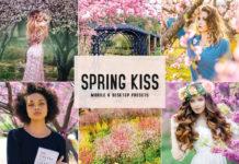 Free Spring Kiss Lightroom Presets