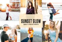 Free Sunset Glow Lightroom Presets