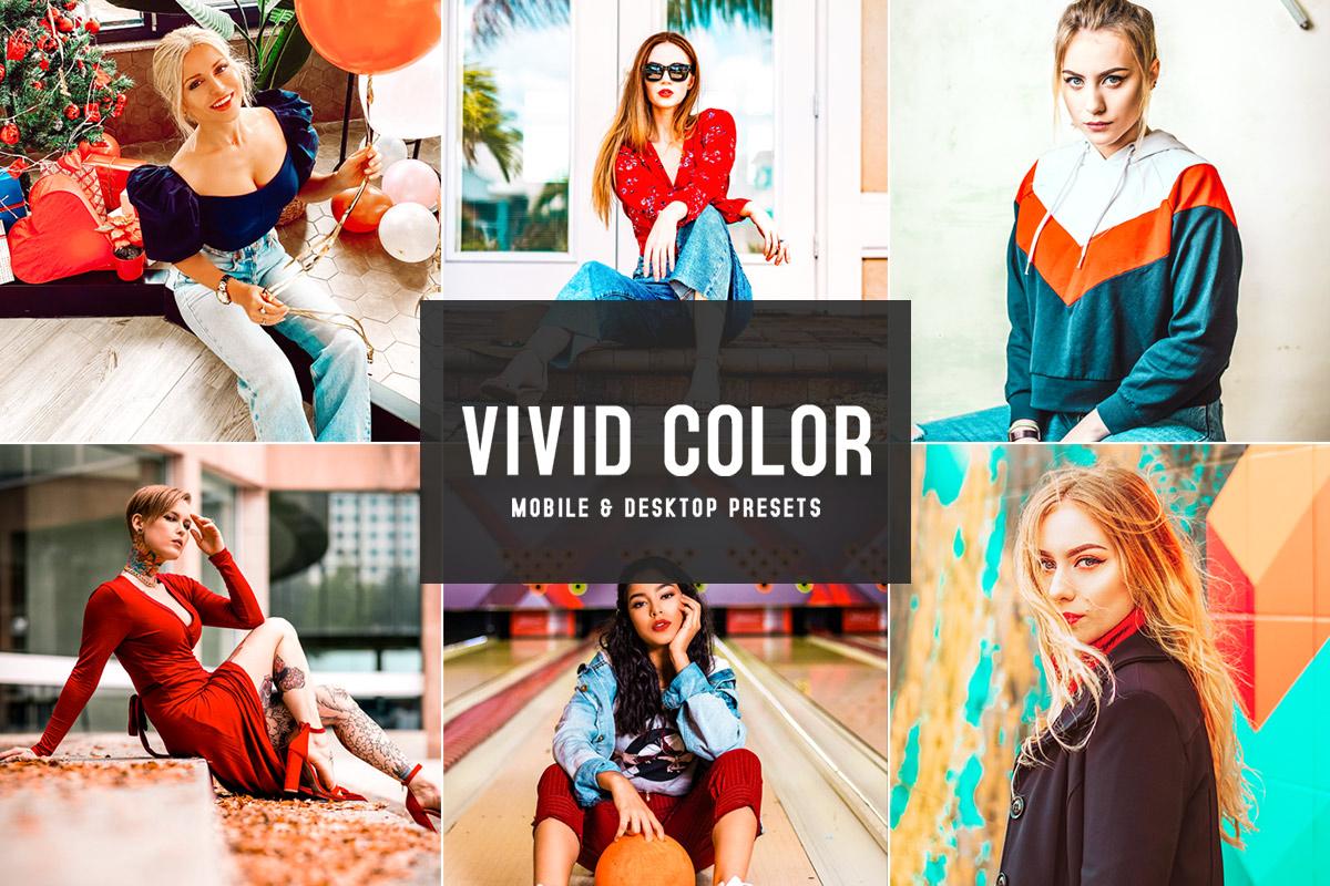 Free Vivid Color Lightroom Presets