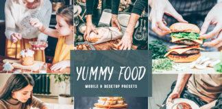 Free Yummy Food Lightroom Presets