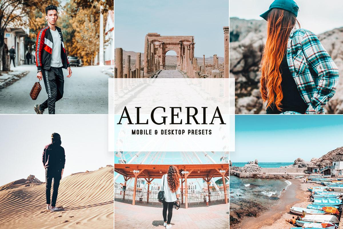 Free Algeria Lightroom Presets