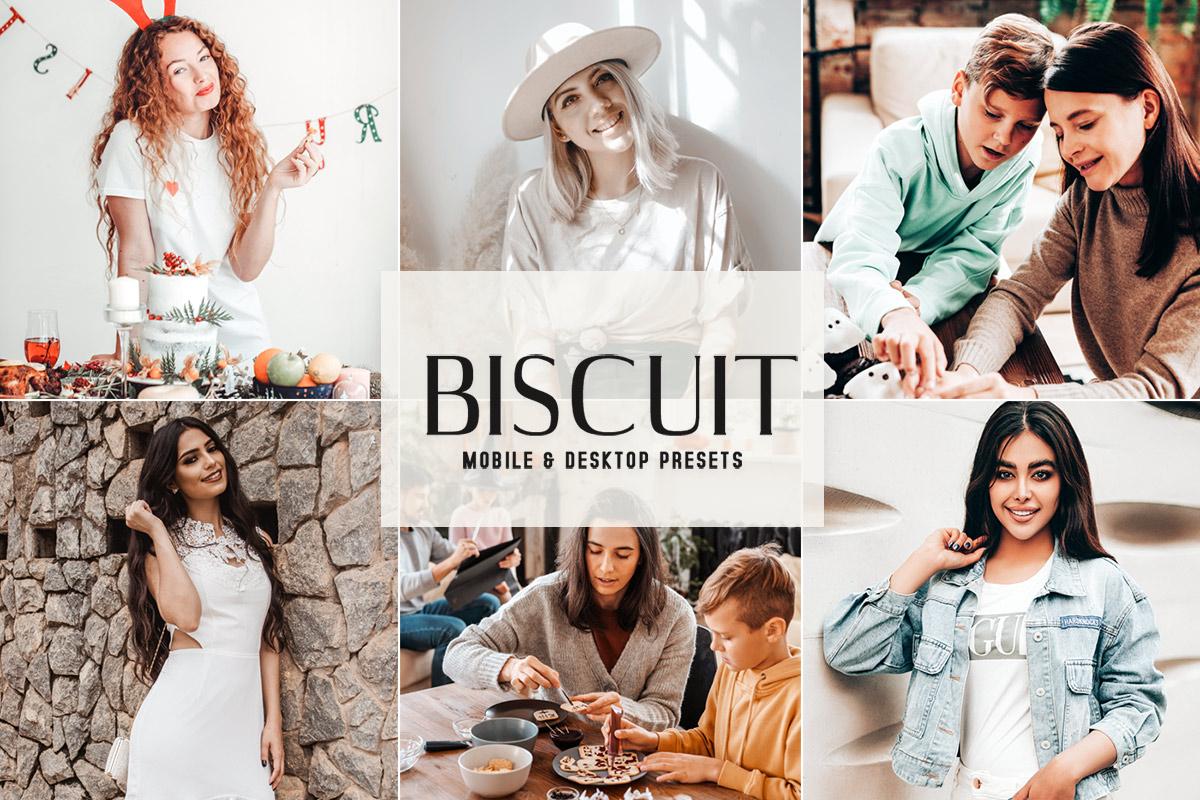 Free Biscuit Lightroom Presets