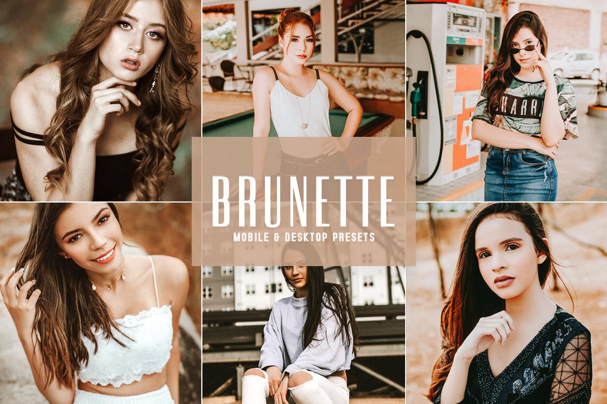 Free Brunette Lightroom Presets