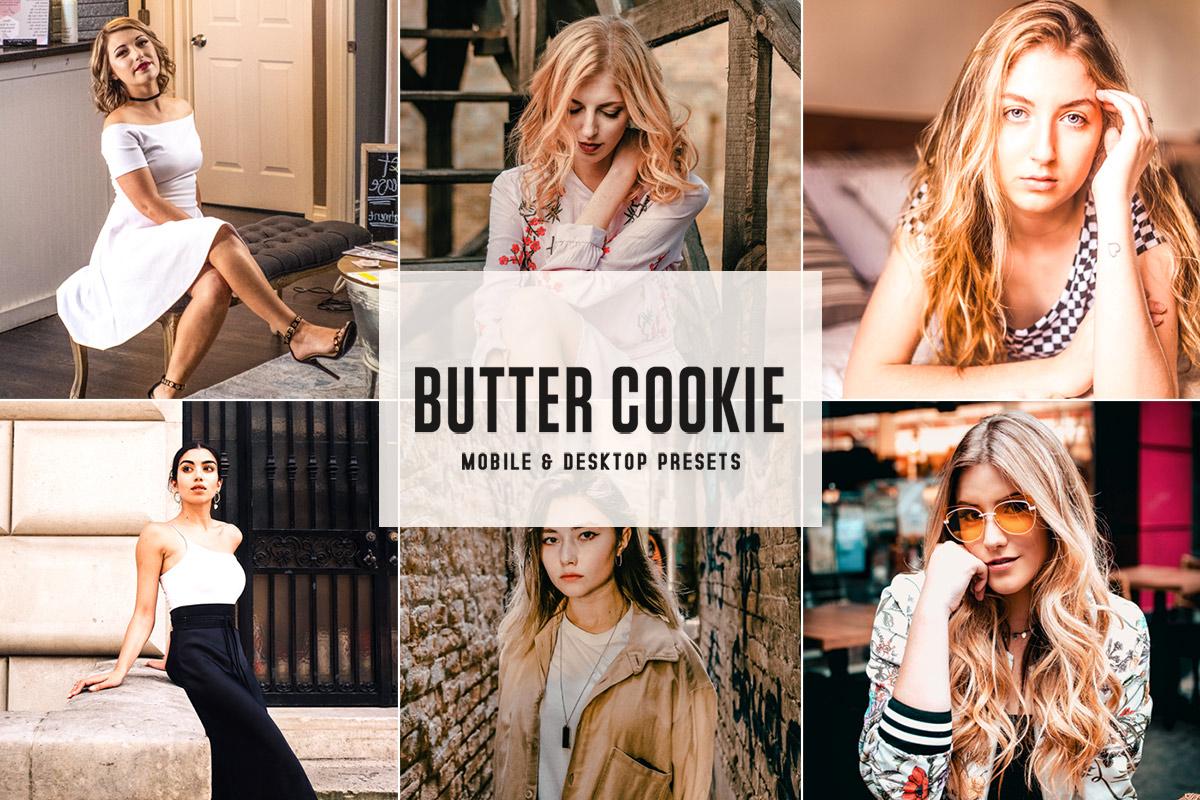 Free Butter Cookie Lightroom Presets