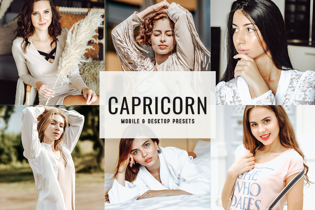 Free Capricorn Lightroom Presets