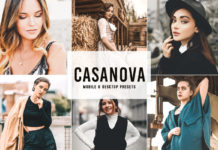 Free Casanova Lightroom Presets