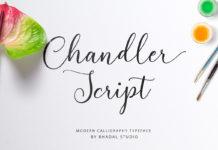 Free Chandler Script Font