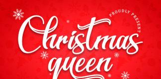 Free Christmas Queen Script Font